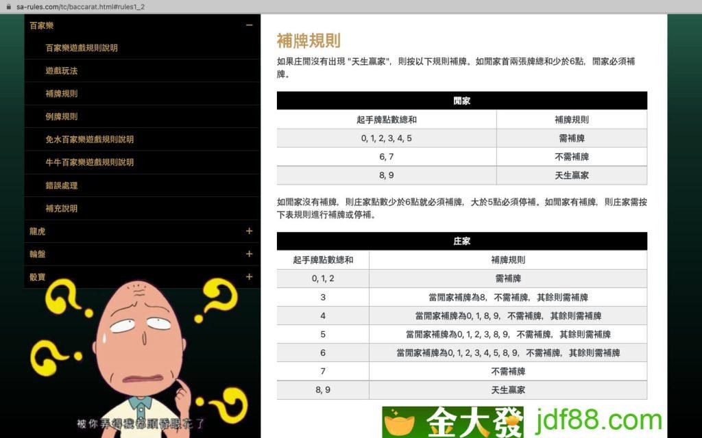台灣 百家樂玩法